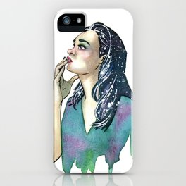 Just a Touch iPhone Case