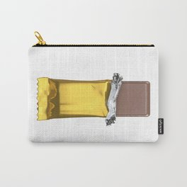 Chocolate candy bar in gold wrapper Carry-All Pouch