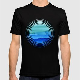 Alcohol Ink Seascape T-shirt