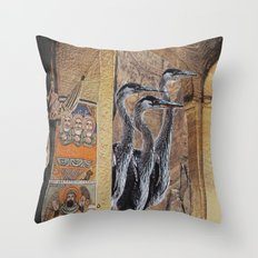 Collage No.56 Throw Pillow