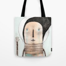 Letting go doesn't mean giving up... it means moving on.  Tote Bag
