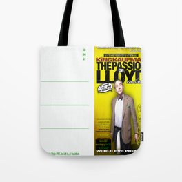 King Kaufman: The Passion of Lloyd (2008) - Movie Poster Postcard Tote Bag