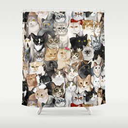 Catmina 2017 - SEVEN Shower Curtain