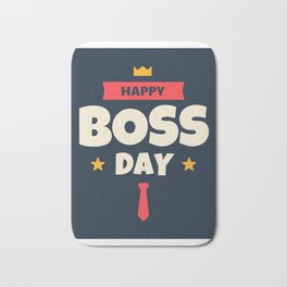 Happy Boss Day 2 Bath Mat