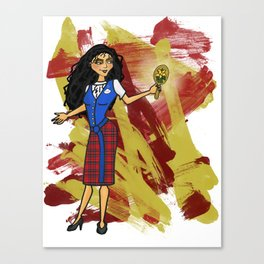 Disneyland Mother Gothel Evil Relations Canvas Print