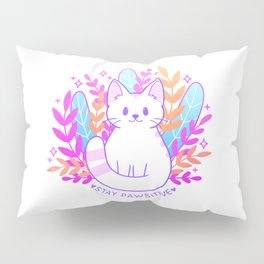 Pawsitive Cat Pillow Sham