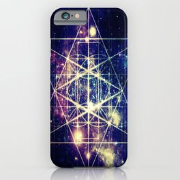 Flower of Life : Sacred GeometrY iPhone Case