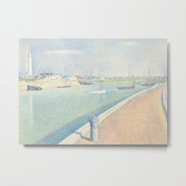 The Channel of Gravelines, Petit Fort Philippe Metal Print