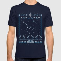 Ugly Astronomy Sweater Mens Fitted Tee Navy SMALL