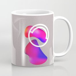 abstract fluid shapes no1 Coffee Mug