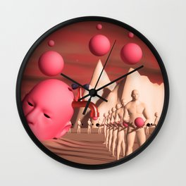 CREATIVE JUICES Wall Clock