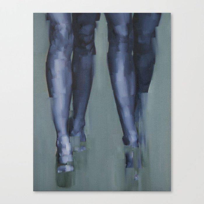 Synchrony Canvas Print