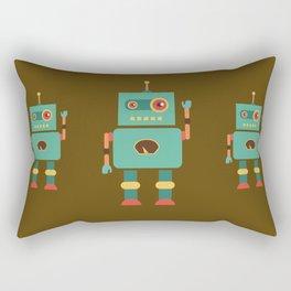 Fun Robot Toy Graphic Rectangular Pillow