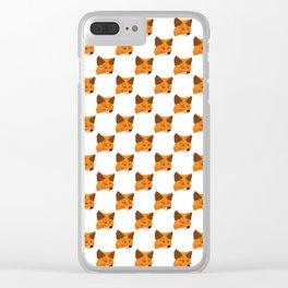 Metamask - Crypto Fashion Art (Medium) Clear iPhone Case