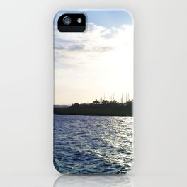 Sunset in the Harbor iPhone Case