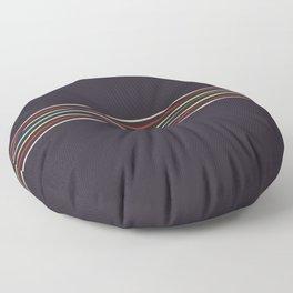 Multicolor Fine Lines Floor Pillow