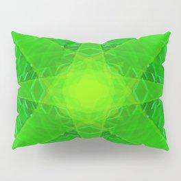 green star Pillow Sham