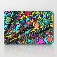 buildings iPad Cases featuring Buildings  by Marcela Caraballo