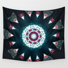 Mandala Fruit Cocktail  Wall Tapestry