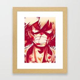 Bakugou Framed Art Print