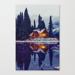 Emerald Lake, Canada Canvas Print