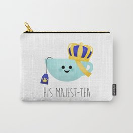 His Majest-tea Carry-All Pouch