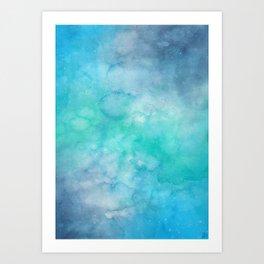 Underwater Galaxy Art Print