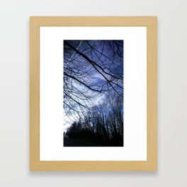 Like arms stretching out Framed Art Print