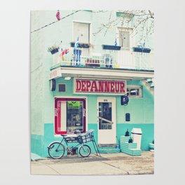 Montreal  - Dépanneur Poster