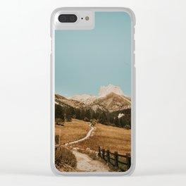 Mont Thabor/// Gran Séru Clear iPhone Case