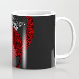Horned, masked and crowned Coffee Mug
