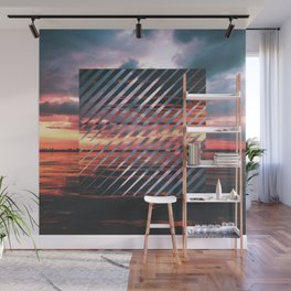Sunset Leanin' Wall Mural