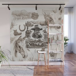 Country Western Wall Mural