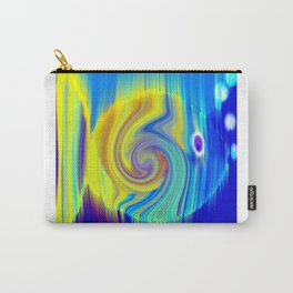 Colorful Abstract Fish Art Carry-All Pouch