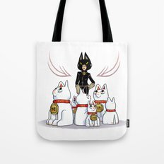 Woman Of Cats Tote Bag