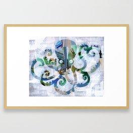For the love of Octopus Framed Art Print