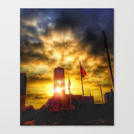 Morning In Memphis Canvas Print