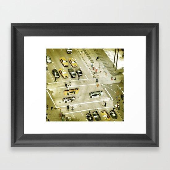 Escher Intersection Framed Art Print