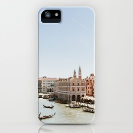 Venice in Pink POV iPhone Case