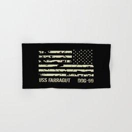 USS Farragut Hand & Bath Towel