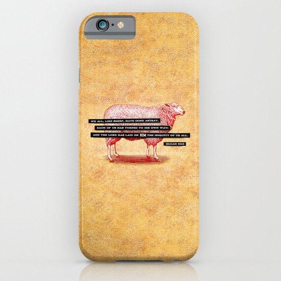 Like Sheep iPhone & iPod Case