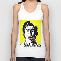 ace Tank Tops featuring Ace by Gary Barling