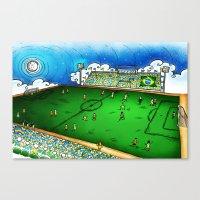 brasil Canvas Prints featuring Brasil by Henrique Abreu