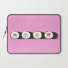 Happy Sushi! - Vector Laptop Sleeve