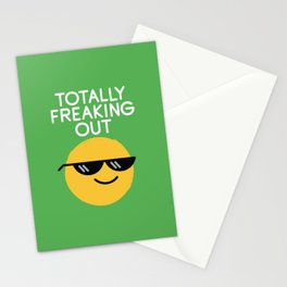 Froze Colored Glasses Stationery Cards