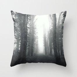 Fog Throw Pillow