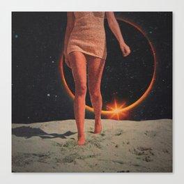 Moon Queen Canvas Print