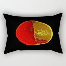 The Legendary Orange Rectangular Pillow