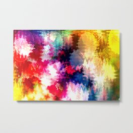An explotion of color Metal Print