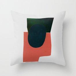 minimalist collage 05 Throw Pillow